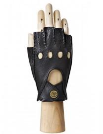 Автомобильные перчатки женские без пальцев HS102W black (Eleganzza)