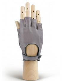 Автомобильные перчатки женские подкладка из шелка IS221W l.grey/cyclone (Eleganzza)