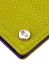 Обложка для документов Labbra L-J10258-2 l.green/purple