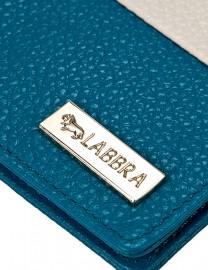 Обложка для паспорта Labbra L-J10258 blue/beige