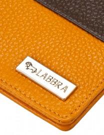 Обложка для документов Labbra L-J10258 yellow/taupe