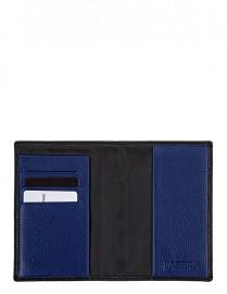 Обложка для документов Labbra L002-0011 black/blue