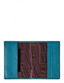Обложка для паспорта Labbra L025-1012 d.blue