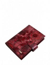 Обложка для водительских доументов Z3396-778 red (Eleganzza)