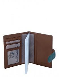 Обложка для  документов Z3449-2807 d.green/khaki (Eleganzza)