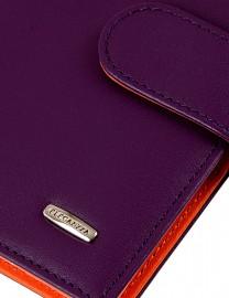 Обложка для документов Z3449-2807 purple/orange (Eleganzza)