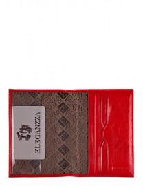 Обложка для документов Z3791-2585 red (Eleganzza)