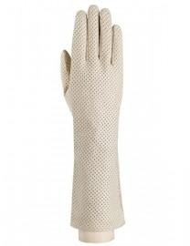 Перчатки длинные зимние без пальцев LB-3024 beige (Labbra)