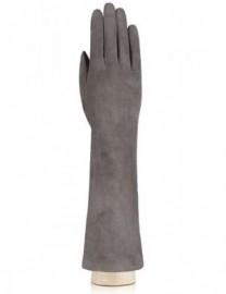 Перчатки длинные зимние подкладка из шелка IS5003 l.grey (Eleganzza)