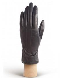Перчатки кожаные утепленные подкладка из шелка AND W12FH-0825 black (Anyday)