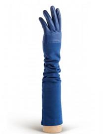 Перчатки кожаные высокие без пальцев IS01015 d.blue (Eleganzza)