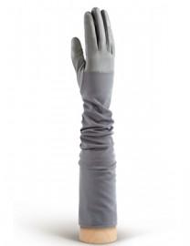 Перчатки кожаные высокие без пальцев IS01015 grey (Eleganzza)