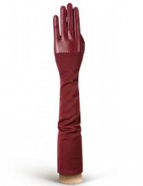Перчатки кожаные высокие без пальцев IS01015 merlot (Eleganzza)