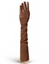 Перчатки кожаные высокие без пальцев IS01015 taupe (Eleganzza)