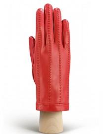 Перчатки кожаные женские без пальцев IS025w coral (Eleganzza)