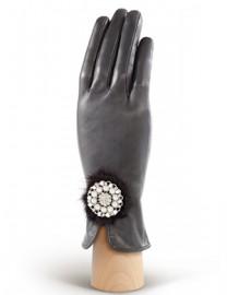 Перчатки женские 100% кашемир 2785w grey (Eleganzza)