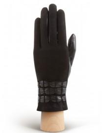 Перчатки женские 100% кашемир 3119w black (Eleganzza)