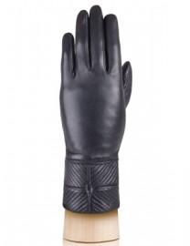 Перчатки женские 100% кашемир 3412w black (Eleganzza)