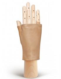 Перчатки женские без пальцев 320 l.brown (Eleganzza)