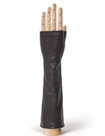 Перчатки женские подкладка из шелка 605 black (Eleganzza)