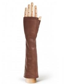 Перчатки женские подкладка из шелка 605 taupe (Eleganzza)