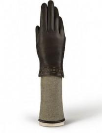 Перчатки жен 100% шерсть LB-5768 brown/l.taupe (Labbra)