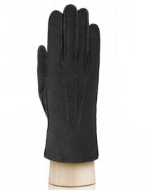 Перчатки жен натуральный мех d.face AND W60G 007 black (Anyday)