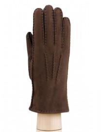 Перчатки жен натуральный мех d.face AND W60G 007 brown (Anyday)