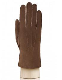 Перчатки жен натуральный мех d.face AND W60G 007 cognac (Anyday)