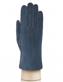 Перчатки жен натуральный мех d.face AND W60G 007 d.blue (Anyday)