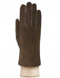 Перчатки жен натуральный мех d.face AND W60G 007 taupe (Anyday)