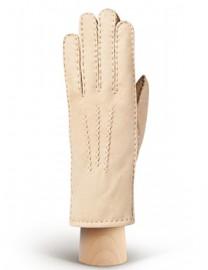 Перчатки жен натуральный мех d.face AND W60G 008 beige (Anyday)