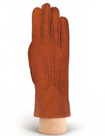 Перчатки жен натуральный мех d.face AND W60G 008 cognac (Anyday)