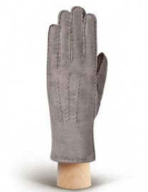 Перчатки жен натуральный мех d.face AND W60G 008 grey (Anyday)
