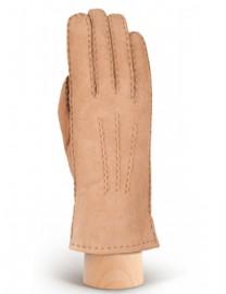 Перчатки жен натуральный мех d.face AND W60G 008 taupe (Anyday)