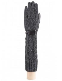 Перчатки жен п/ш LB-02073 black/d.grey (Labbra)