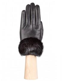 Перчатки жен подкладка из шелка LB-9220 black (Labbra)