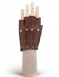 Перчатки женские 100% шерсть 01400 concer/beige (Eleganzza)