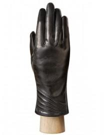 Перчатки женские 100% шерсть HP040 black (Eleganzza)