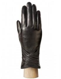 Перчатки женские 100% шерсть HP048 black (Eleganzza)