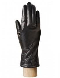 Перчатки женские 100% шерсть HP079 black (Eleganzza)