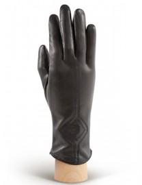 Перчатки женские 100% шерсть HP202 black (Eleganzza)