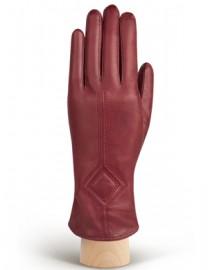 Перчатки женские 100% шерсть HP202 merlot (Eleganzza)