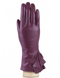 Перчатки женские 100% шерсть HP328 merlot (Eleganzza)