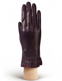 Перчатки женские 100% шерсть HP525 amethyst/cranberry (Eleganzza)
