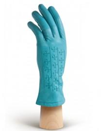 Перчатки женские 100% шерсть HP5367 skyblue (Eleganzza)