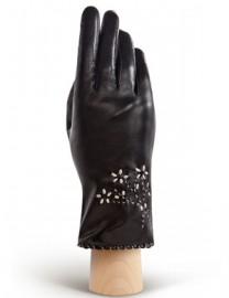 Перчатки женские 100% шерсть HP6073 black (Eleganzza)