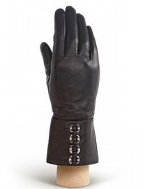 Перчатки женские 100% шерсть HP624 black (Eleganzza)