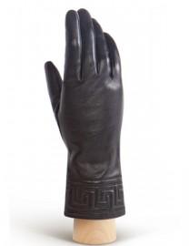 Перчатки женские 100% шерсть HP956 black (Eleganzza)