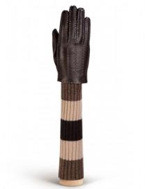 Перчатки женские 100% шерсть HS01100 mocca (Eleganzza)